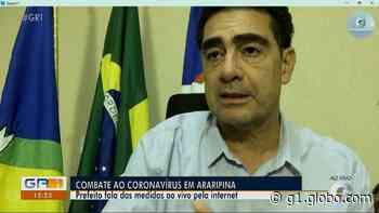 Único caso suspeito do novo coronavírus em Araripina é descartado - G1