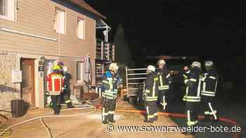 Haigerloch: Abendlicher Zimmerbrand ist rasch unter Kontrolle - Haigerloch - Schwarzwälder Bote