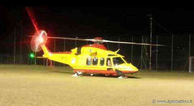 In elicottero nella notte da Como a Udine per salvare una paziente contagiata dal virus - Il Gazzettino