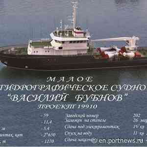 Blagoveshchensk shipyard named after October Revolution laid down yet another hydrographic ship of Project 19910 - PortNews IAA