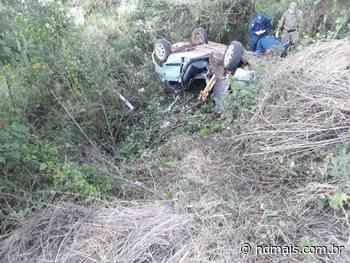 Motorista sem habilitação morre após capotar carro em Fraiburgo - ND - Notícias