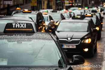 Brusselse taxichauffeurs willen hun auto's op stal laten