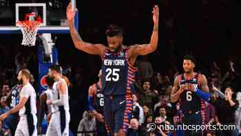 Report: Knicks likely to guarantee Reggie Bullock's salary for next season