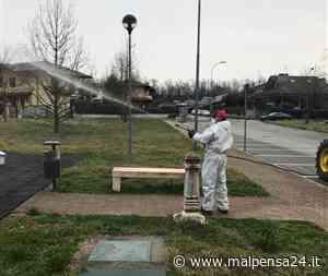 Cominciata la disinfezione delle strade nel territorio del comune di Nosate - malpensa24.it