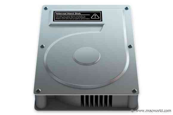 How to check a Mac's free hard drive space