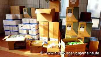 Nachschub an Schutzmasken und Desinfektionsmitteln - Augsburger Allgemeine