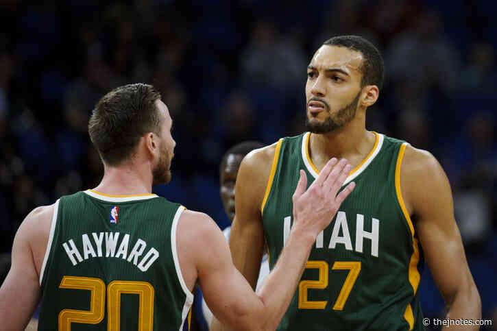 Utah Jazz NBA 2K20: Simulating season with Gobert/Hayward/Mitchell core