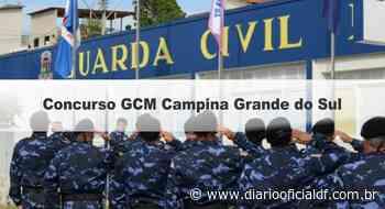 Concurso GCM Campina Grande do Sul PR: Inscrições abertas! - DIARIO OFICIAL DF - DODF CONCURSOS