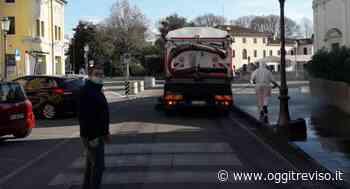 Coronavirus, al via la sanificazione delle strade a Casier. - Oggi Treviso