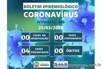 IVINHEMA: Todos casos suspeitos de coronavírus foram descartados - Fátima News