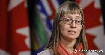 Alberta chief medical officer of health to provide update on COVID-19 Thursday afternoon