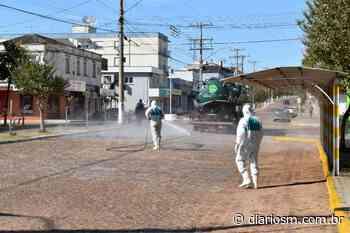 Depois de Santa Maria, empresa faz limpeza em ruas de outras seis cidades - Diário de Santa Maria