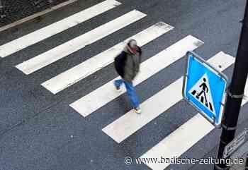Fußgänger wird in Steinen auf dem Zebrastreifen angefahren - Steinen - Badische Zeitung