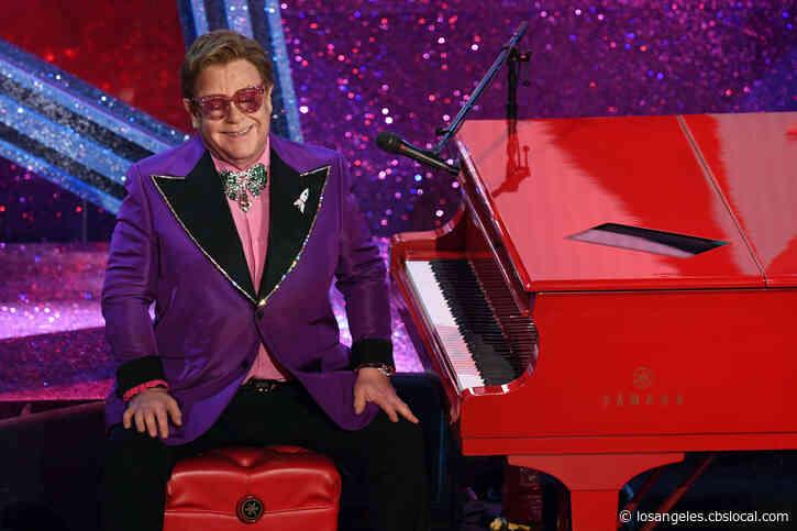 Elton John Hosts 'Living Room Concert For America' Featuring Alicia Keys,Backstreet Boys,Billie Eilish, Mariah Carey, More