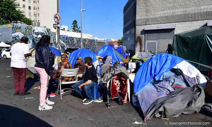 Facing 'New Era', LAPD Working To Protect Homeless, Officers From COVID-19