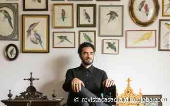 Apego: Stephan Doitschinoff mostra seu item de decoração preferido - Casa e Jardim