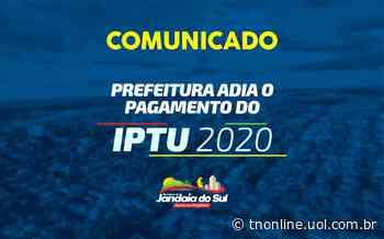 Prefeitura de Jandaia do Sul amplia prazo para pagamento do IPTU - TNOnline