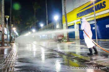 Osasco inicia a desinfecção em vários pontos da cidade - Correio Paulista