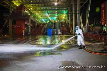 Locais públicos de Osasco são desinfetados contra o coronavírus - Portal Visão Oeste