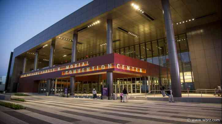 Convention hall to handle New Orleans virus patient overflow