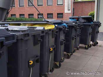 Mülltonnen im Kreis Warendorf schon abends raus - Radio WAF