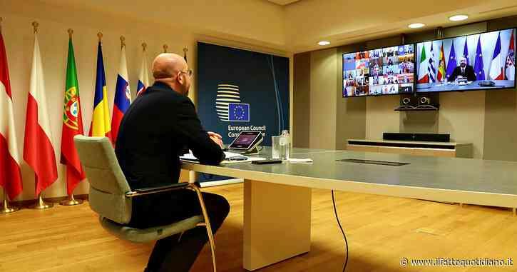 """Consiglio europeo, dopo sei ore l'intesa è su un rinvio di 2 settimane. Conte: """"Strumenti del passato ve li potete tenere"""""""