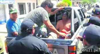 Ica: Sujeto intenta atacar con un cuchillo a policía que lo intervino por no acatar la cuarentena - Diario Perú21