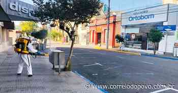 Taquara realiza dedetização contra o novo coronavírus - Jornal Correio do Povo