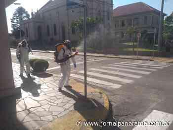 Prefeitura de Taquara realiza higienização no Centro - Panorama