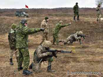 Canada to slash number of troops stationed in Ukraine until COVID-19 pandemic is over