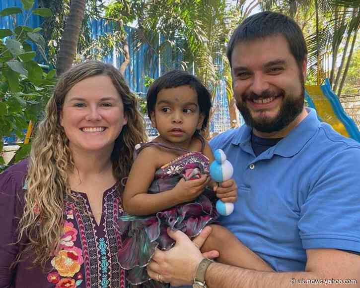 US couple, adopted daughter, caught in India virus lockdown