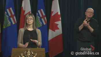 Dr. Hinshaw explains why Alberta is more focused on community transmissions of COVID-19