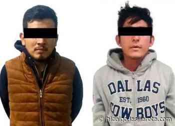 Detienen a dos en La Reforma y Atitalaquia, por robo de ganado y portación de arma - La Silla Rota