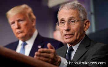 Casa Branca: EUA fizeram mais testes de coronavírus em 8 dias do que a Coreia do Sul em 8 semanas - Sputnik Brasil