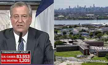 Mayor de Blasio released 200 inmates from NYC jails to stop the spread of the coronavirus
