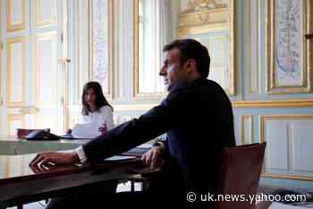 France's Macron says he and Trump preparing an initiative on coronavirus crisis - Twitter