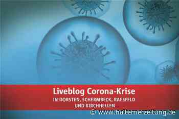 Coronavirus: 34 Fälle in Dorsten - in der Stadt ist es ruhig, der Bürgermeister ist stolz - Halterner Zeitung
