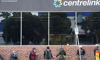 Generous Australian man hands out $100 cash to workers queuing outside Centrelink