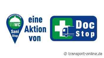 Lkw-Fahrer: DocStop organisiert freien Zugang zu WCs und Duschen - Transport - Die Zeitung für den Güterverkehr