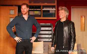 Prince Harry and Bon Jovi release charity single Unbroken featuring Invictus Games Choir