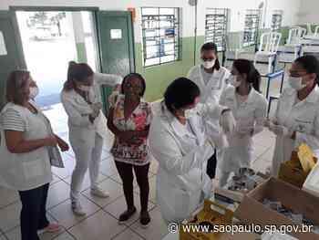 Alunos da Etec de Santa Rita do Passa Quatro participam de vacinação contra gripe - Portal do Governo do Estado de São Paulo