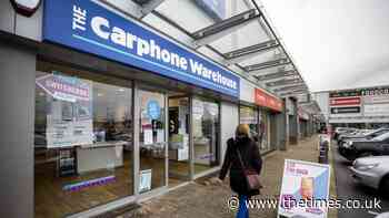 Dixons Carphone braces for £400m dent in sales - The Times