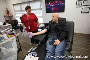 Las Vegas Motor Speedway will host blood drives - Las Vegas Review-Journal