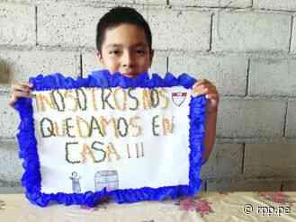 Coronavirus Perú   Escolares de Ascope elaboran carteles de sensibilización durante cuarentena - RPP