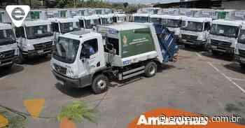 Manaus tem 14 novos caminhões de lixo para realizar coleta domiciliar - EM TEMPO