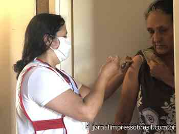 Idosos em Guararema são vacinados em suas residências - Jornal Impresso Brasil
