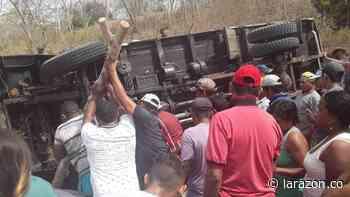 Un muerto y tres heridos dejó accidente vial en Los Córdobas - LA RAZÓN.CO