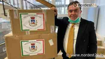 San Donà di Piave. Giovane imprenditore dona 10.000 mascherine all'Ulss4 - Nordest24.it