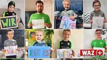 Corona: Sportler aus Hattingen/Sprockhövel senden Botschaft - WAZ News
