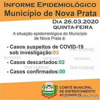 Nova Prata registra mais um caso suspeito de Covid-19 | Rádio Studio 87.7 FM - Rádio Studio 87.7 FM
